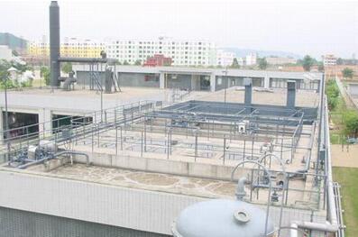 上海某污水处理厂工程
