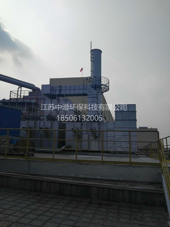 无锡某电子公司印刷废气工程