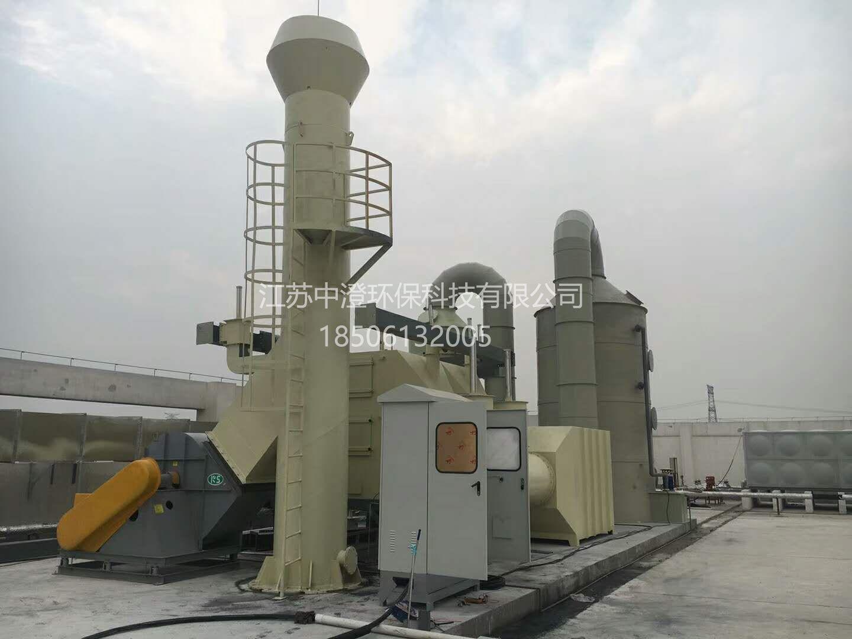 合肥某家具厂喷漆废气治理工程