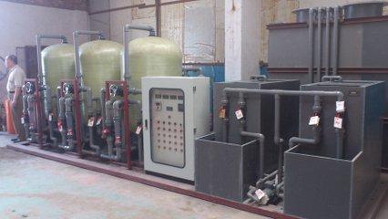 常熟某电镀厂废水处理项目
